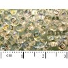 Roccailles - Superduo - 2,5x5mm, crystal AB